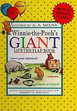 Winnie-the-Pooh's Giant Lift-the-Flap Book-ExLibrary