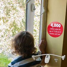 Max6mum sicurezza bloccabile finestra figlio e limitatore per porta in bianco (confezione da 2)