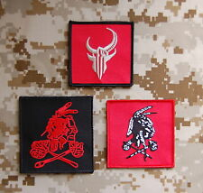 NSWDG Red Squadron Patch Set Seal Team Six DevGru Red Team ST6 Zero Dark 30 Hook