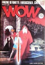 WOW 1978 n.3 - fanzine FUMETTI - Cinema - FANTASCIENZA _ Karel THOLE >>> vedi