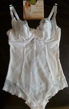 New 34B Marks & Spencer Luxury White Underwired Full Cup Body RRP £29.50