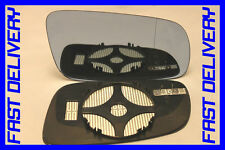 VW BORA 1998-2005 DOOR WING MIRROR GLASS HEATED BLUE BLIND SPOT RIGHT