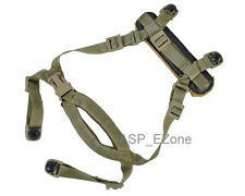Airsoft Tactical MICH Helmet Suspension System H-Nape Tan
