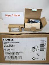 siemens GLB336. 2E AC 230 V 250 N Amortiguadores de aire Actuador rotativo HVAC