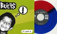 "Shocks / Briefs - Insekt / I Know Split 7"" EP RED/BLUE VINYL Zack Zack Epoxies"