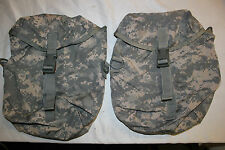 1  ORIGINAL US Military Issue MOLLE II SUSTAINMENT POUCH IN ACU CAMO