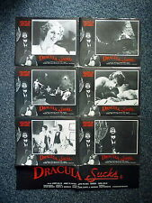 DRACULA SUCKS Rare Original 1970s Poster Annette Haven, Jamie Gillis