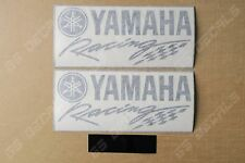 2x Yamaha Racing Premium Cast Decals Stickers YZF R1 R3 R6 FJR MT XT    200mm