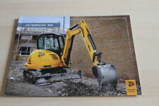 127719) JCB Minibagger 8065 Prospekt 11/2008