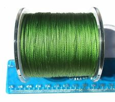 330 yards SUPERLINE 30lb test Braided Fishing Line, GREEN,Durable & Strong Braid