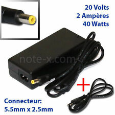FOR 20V 2A 40W MSI WIND U90 U100 U120 H U130 U135 NETBOOK LAPTOP ADAPTER CHARGER
