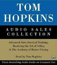 TOM HOPKINS AUDIO SALES COLLECTION - NEW CD/SPOKEN WORD AUDIO BOOK
