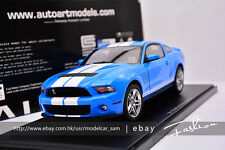 AUTOart 1:18 ford SHELBY GT500 2010 blue