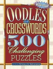 Oodles of Crosswords: 500 Challenging Puzzles (Mega-Value) by Newman, Stanley
