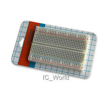 Solderless Breadboard Bread Board 400 Contacts for Raspberry Pi Arduino Projects