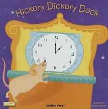 NEW - HICKORY DICKORY DOCK small BOARD BOOK (BUY 3 GET 1 FREE)  CHILD'S PLAY