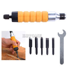 Electric Woodworking Carving Machine Carving Chisel Tool With 5 Carving Blades