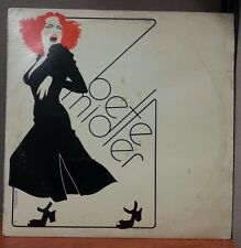 Bette Midler Vinyl LP Lot SD 7238 16010 7270 The Rose Divine Miss + Poster