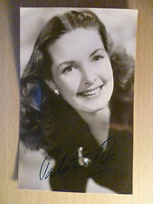 Vintage Real Photograph of  Patricia Roc with Real Hand Signature 5.5 X 3.5 inch
