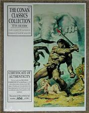 THE CONAN CLASSICS COLLECTION ~ SET 6 ~ 1990 LIMITED EDITION ART PORTFOLIO 1of3