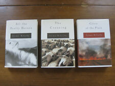THE BORDER TRILOGY by Cormac McCarthy - 1st/1st HCDJ  FINE all the pretty horses