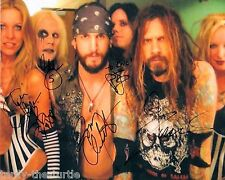 Rob Zombie Band  8 x 10 Autograph Reprint  Dragula  Superbeast  Living Dead Girl