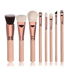 8Pcs Professional Make Up Brush Set Foundation Blusher Kabuki Eye Shadow Brushes