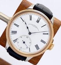 M. GROSSSMANN Glashütte Armbanduhr mit TU Werk Bicolor - Glasboden WERK 1A *RAR*