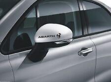 6x Abarth Sticker Außen für Räder Emblem spiegel / Türgriff  Aufkleber Fiat