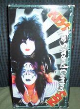 KISS The Second Coming Old Home Movies Concert Footage VHS 2nd of Two