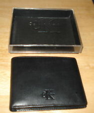 Calvin Klein Men's Bifold Black Wallet New in Box