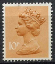 GB SG#X939, 10p Orange-Brown QEII Machin Definitive PP MNH #D2999
