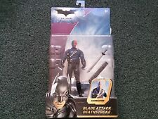 Batman Blade Attack Deathstroke Slashing Action Mattel
