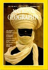 THE National Geographic November 1979 Desert Age Old Challenge Hong Kong Refugee