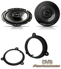Dacia Lodgy 2012 onwards Pioneer 17cm Front Door Speaker Upgrade Kit 240W