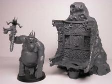 Goblin King & Throne New off sprue & needs assembly The Hobbit LOTR Escape Town