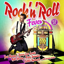 CD Rock ' n Roll Fever (fièvre) d'Artistes divers 4CDs