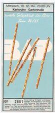 BAP   In Concert 1984  org.Ticket / Konzertkarte / Eintrittskarte