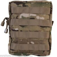 MTP LARGE WEBBING POUCH UTILITY MOLLE ZIPPED MULTICAM BRITISH ARMY CADET