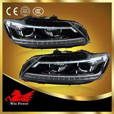 For American 2011-2015 VW Passat B7 V6 Headlights with Angle Eye And Projector
