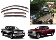 4pc AVS 194515 In-Channel Vent Visors Window Deflector For 2007-2013 GM Trucks