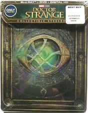 Doctor Strange Steelbook (Blu-ray+DVD+Digital HD, 2017) *New, Ready To Ship*