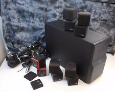 Bose Acoustimass 10 Home theater surround sound Sub cube speaker set
