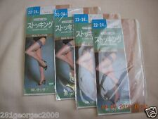 4 pair of NEW WOMEN'S Thigh Highs Made in Japan for shoes Size:6-8