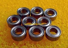 "[10PCS] SR2-5ZZ (1/8"" x 5/16"" x 9/64"") 440c Stainless Steel Ball Bearings R2-5ZZ"