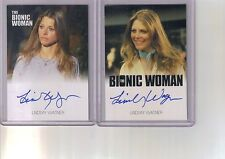 2) 2012 ScifiHobby Lindsay Wagner Jaime Sommers Bionic Woman Archives Auto Lot