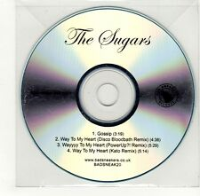 (GO321) The Sugars, Gossip / Way To My Heart - DJ CD