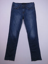 A-113 LADIES CALVIN KLEIN STRETCH SKINNY MID RISE BLUE DENIM JEANS SIZE 28
