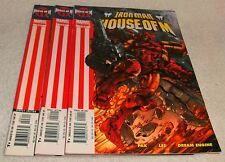 MARVEL COMICS HOUSE OF M IRON MAN # 1 - 3 VF/NM