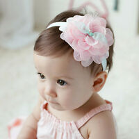 Pretty Cute Baby Kids Girl Lace Flower Hair Band Headwear Headband Accessories